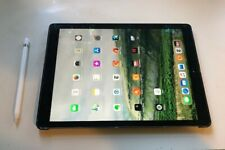 Apple iPad Pro 1st Gen. 128GB, Wi-Fi, 12.9 in - Space Gray with pencil