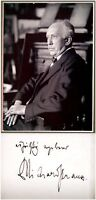 Composer RICHARD STRAUSS Hand SIGNED AUTOGRAPH + PHOTO + DECORATIVE MAT Opera VR