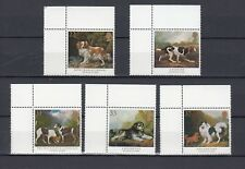 TIMBRE STAMP 5 ROYAUME UNI Y&T#1511-15 CHIEN DOG ART NEUF**/MNH-MINT 1991 ~B89