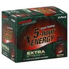 5-Hour Energy Extra Strength Strawberry Watermelon 6-Pack (6 - 1.93floz Bottles)