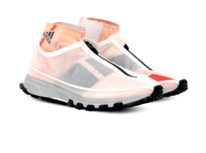 Adidas Stella McCartney NEW Women Adizero XT S. White Mesh Zipper Sneaker US 8