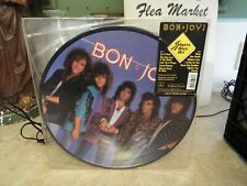 Bon Jovi Slippery When Wet Picture Disc LP VINYL ALBUM