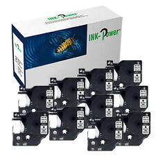 10 Perfectprint Compatible Label Cassette for DYMO 45013 Label Manager 210d 260p