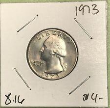 1973 WASHINGTON QUARTER. COLLECTOR COIN FOR YOUR SET OR COLLECTION.