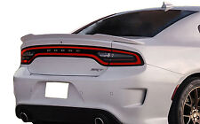 DODGE CHARGER FLUSH MOUNT FACTORY STYLE UNPAINTED REAR WING SPOILER 2015-2016