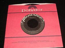 """MICHELE MARTIN<>DANCE DOWN<>45 Rpm,7"""" Vinyl ~Canada Pressing° MONTRECO MRC 5002"""