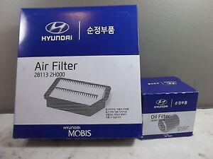 GENUINE HYUNDAI I 30 CW WAGON 2.0 L PETROL FILTER PACK (OIL FILTER + AIR FILTER)