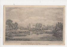 Waltham Abbey From 150 Years Ago Vintage Postcard 277b