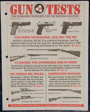 Magazine GUN TESTS, August 2007 BERETTA Model 471 Silver Hawk 12-Gauge SHOTGUN