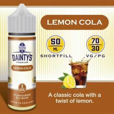 Lemon No Nicotine E-Liquids & E-Cig Cartridges
