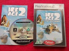 ICE Age 2 la fusión Platino SONY PLAYSTATION 2 PS2 PAL