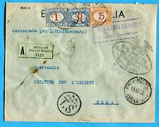 LIBIA - RARA ASSICURATA TASSA A CARICO (279250)