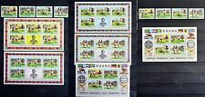 GHANA 1974   FOOTBALL SOCCER  2  SETS + 2 BLOCKS + 4 MINI-SHEETS   MNH **