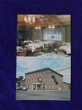 VINCENT BARRIES THE INGERSOLL INN POSTCARD ONTARIO CANADA VINTAGE DINING HOTEL