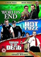Edgar Wright - The Worlds Extremo / Hot Fuzz / Shaun Of Dead DVD Nuevo (829635