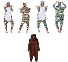 Cute Adult Line Bear Brown Cat Onesie0 Animal Costume Kigurumi Pyjamas Cosplay