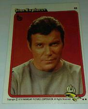 2013 TOPPS 75TH ANNIVERSARY BUYBACK CARD STAR TREK Explorer James T Kirk