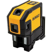 DeWALT DW0851 Combination Self-Leveling 5-Spot Beam & 1 Horizontal Line Laser