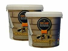 TECHNOSEAL DPM DAMP PROOF WATER PROOFING PAINT WHITE 2 x 5L BASEMENT WALL POND