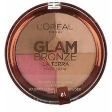 L' L'oréal Glamour Bronzant Terra Sain brillance 4 en 1 6g Lumière 01