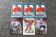 Lot of 6 Original Montreal Canadians Hockey Nhl Cards Signed Autograph