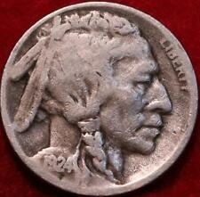 1924-S San Francisco Mint Buffalo Nickel