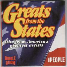 GREATS FROM THE STATES - UK PROMO 2 CD SET (2005) SAM & DAVE, STARSHIP, SUPREMES