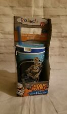 New listing Snackeez Snack and Drink Cup Star Wars C-3Po and R2-D2 2 in 1 Bpa Free