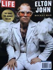 ELTON JOHN LIFE MAGAZINE ROCKET MAN 2019 BRAND NEW