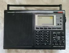 Realistic Dx-390 Shortwave/Am/Fm Stereo/Mv Portable Radio Tested