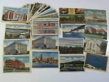 MARYLAND! MD. 27 LINEN LOT PRE-WWII / WWII PICTURESQUE ROADSIDE AMERICANA #231