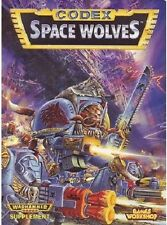 CODEX SPACE WOLVES - USED- GAMES WORKSHOP PLAY TEST COPY - 1994 EDITION -