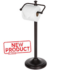 Toilet Paper Holder Stand Bathroom Tissue Rack Home Office Oil Rubbed Bronze New