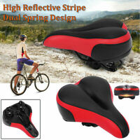 Big Bum Wide Bike Bicycle Gel Cruiser Extra Soft Comfort Sporty Pad Saddle Seat