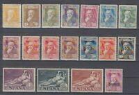ESPAÑA (1930) SERIE NUEVA COMPLETA SIN FIJASELLOS MNH -EDIFIL 499/16 GOYA