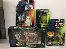 Lot Of Star Wars POTF Action Figures All New And Sealed Rebel Pilots Leia Organa