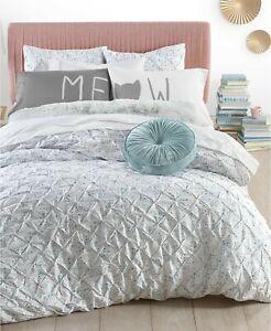 Whim by Martha Stewart TWIN Comforter Pleated Drip Drop A9X145