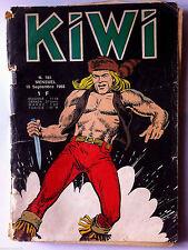 Lot de 2 Kiwi n°161 & 222  année 1968 & 1973 - LUG -