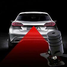 Car Bike Anti-Collision Laser Fog Warning Red Lights Driving Safety Light Tail
