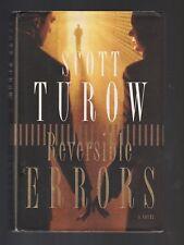 Reversible Errors by Scott Turow (2002, Hardcover), Signed 1st