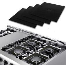 4 Pcs Gas Range Stove Top Burner Protector Reusable Liner Clean  Non-stick Cover