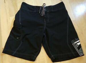 Billabong Platinum Quad Stretch Men's Black Boardshorts Size 32