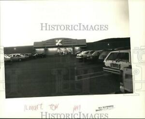 1991 Press Photo Exterior of Kmart, Torrington - nht03379