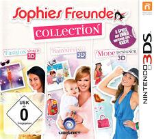 Sophies Freunde - Fashion World + Babysitting + Mode Designer 3D | Nintendo 3DS
