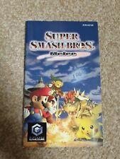 INSTRUCTION MANUAL BOOKLET ONLY - Super Smash Bros. Melee - Nintendo Gamecube