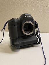 Canon EOS 6D 20.2MP Digital SLR Camera W/ Battery Grip & Extras
