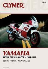 Clymer Yamaha Fz700, Fz750 & Fazer 1985-1987-ExLibrary