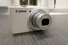 Canon PowerShot S110 12.1MP Digital Camera - White, Case
