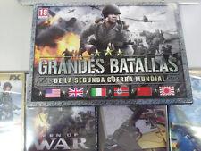 GRANDES BATALLAS DE LA SEGUNDA GUERRA MUNDIAL 4 X JUEGO PC 4 X DVD-ROM ESPAÑOL