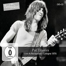 PAT TRAVERS - LIVE AT ROCKPALAST-COLOGNE 1976  CD+DVD NEU